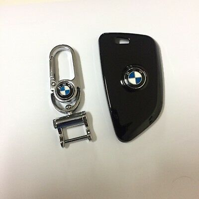 BMW Fob Key Hard Case Cover Protect Shell Crystal , Fit 2011-15 BMW 1/3/5 Black