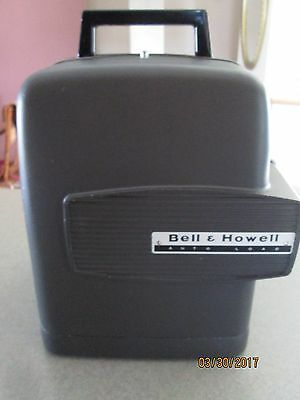 """Vintage Bell & Howell 8mm Auto Load Movie PROJECTOR Model 346, """"GREY"""""""
