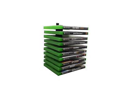 Floating Xbox One Game Wall Mount / Holder / Rack