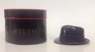 Vintage Stetson Fedora Hat Salesman Sample With Box