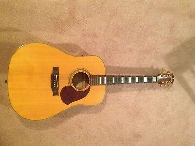 """Maton acoustic guitar with pick up (EA80 """"Australian"""") with case."""