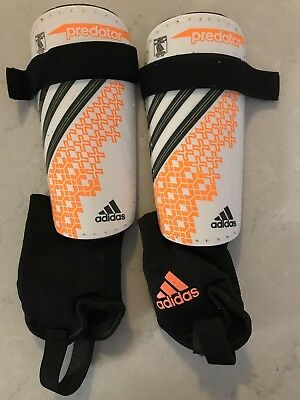 Addidas Predator Shin Pads Guards With Ankle Protection Size Med