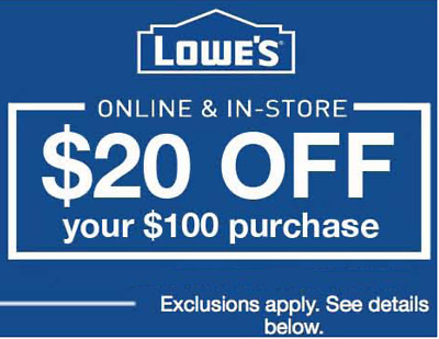 Find Lowes coupons 20% to save money on home improvement. Get Lowes coupons 20%, Lowe's coupons 20 OFF & Printable at twinarchiveju.tk