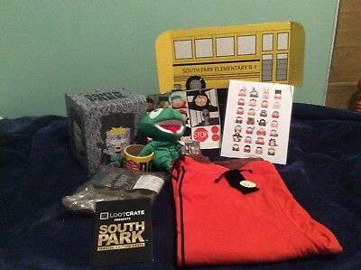 Loot Crate South Park Special Edition Crate! Complete! Rare! Gem Of The Day!