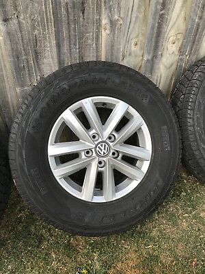 "Volkswagen Amarok 16"" Wheels And Tyres Genuine, Near New"