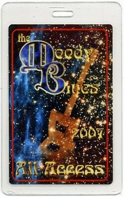 Moody Blues authentic 2007 concert tour Laminated Backstage Pass ALL ACCESS