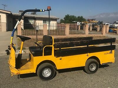 2008 Taylor Dunn B2-48 Industrial Flatbed Electric Utility Cart