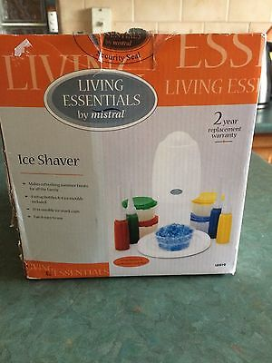 "Mistral ""Living Essentials"" Ice Shaver"