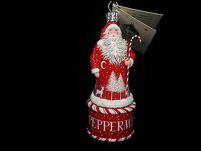 Patricia Breen Red Peppermint Candy Sweet Santa