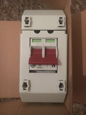 WYLEX REC2 100A Pole Isolator In REC Enclosure