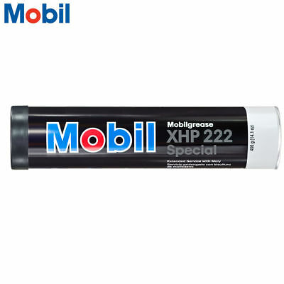 MOBIL XHP 222 Special All Purpose Grease Tube, 14.1oz, Made in USA