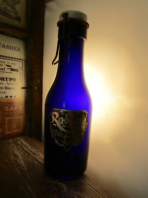 +RARE+ RADIUM / radioactive mineral water jar / bottle QUACK CURE / c1910 +WOW+