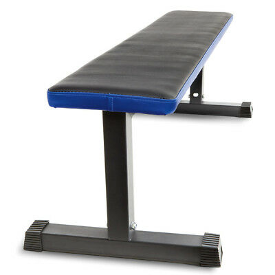 Flat Bench Strength Training Exercise Workout Home Gym Fitness Weight Press Body