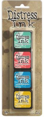 Tim Holtz Distress Ink Pad Mini - Kit #13
