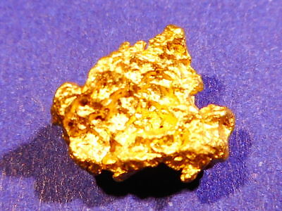 One Sparkling Australian Gold Nugget ( 0.93 grams).