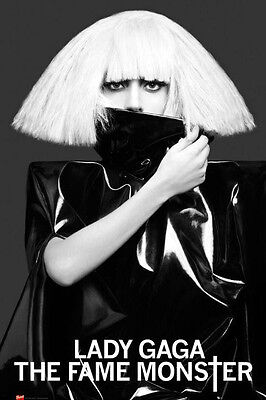 (Laminated) Lady Ga Ga Music Poster (61X91Cm) The Fame Monster Picture Print New