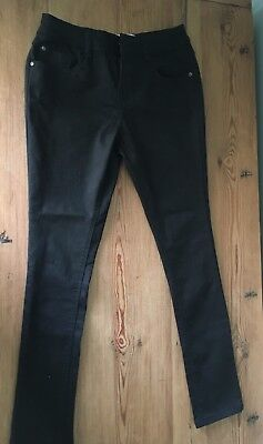 Girls Age 12 Black New Look Skinny Jeans Excellent Condition