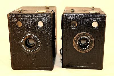 C1937-1943 Popular Brownie & Six-20 Popular Brownie Both Come in VGC