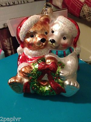 Rauch Industries NEW Pair of Bears Ornament