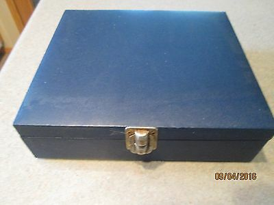 Vintage Dice, Poker Chips, No Cards with Traveling Carry Case