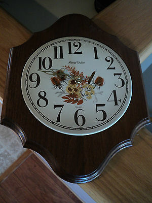 Vintage Phinney Walker Quarty Kitchen Wall Clock