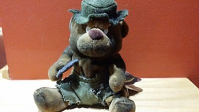 Meanies Series 2 - Burny The Bear. New Old Stock With Tag