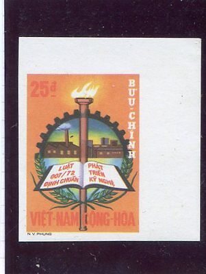 South Vietnam - Unissued imperforated - Industrial development 1972