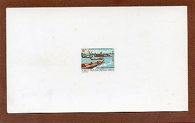 South VIETNAM - RARE - Unissued Stamps - Transportation - Deluxe Sheets - 1975