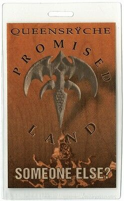 Queensryche authentic 1994 concert Laminated Backstage Pass Promised Land Tour