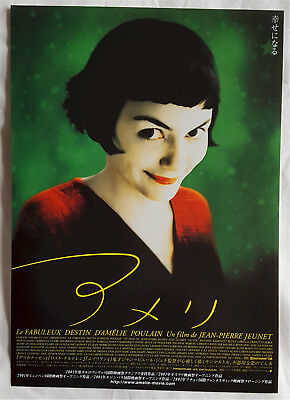 Amélie (2001) - Japanese Chirashi/Movie Flyer