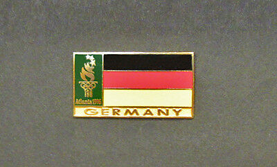 Germany Flag Pin - Souvenir  - Atlanta Centennial Summer Olympics
