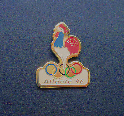 NOC France Atlanta '96 Gallic Rooster Pin - Atlanta Summer Olympics