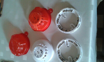 Apollo fire heat detectors 55000-122 A1R with diode bases