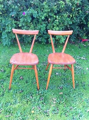 Pair Of Ercol Chairs..good condition