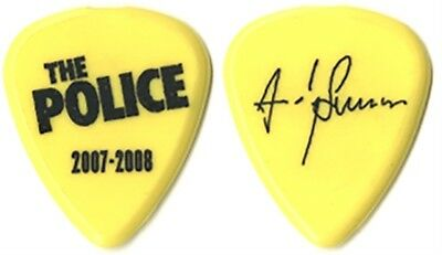 The Police Andy Summers authentic 2007 Reunion tour signature stage Guitar Pick