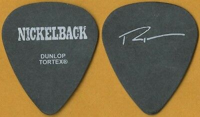 Nickelback Ryan Peake 2004 Long Road concert tour issued signature Guitar Pick
