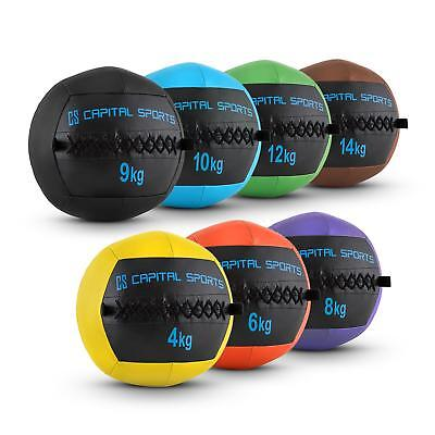 PROMO SET WALL BALL 4 6 8 9 10 12 14 KG TRAINING EXERCICE Fitness DESIGN COLORE