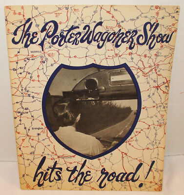 The Porter Wagoner Show Hits The Road Vintage Country Music Concert Program