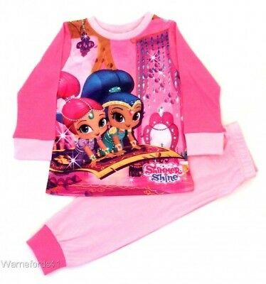 Girls SHIMMER and SHINE pyjamas, pj's 18mths - 5 yrs  - character nightwear