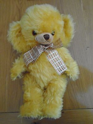 MERRYTHOUGHT CHEEKY BEAR - Limited Edition of 250 ~ Amber Glow Teddy with labels