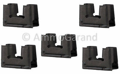 (5ea) M1 Garand 2rd Clips 30-06 EnBloc New US Made 2 Round National Match