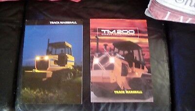 Two Original Track Marshall Tractor Brochures