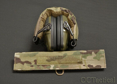 Multicam Hearing Protection Cover Wrap for Howard Leight Impact OC Tactical