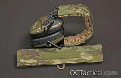 Multicam Tropic Hearing Protection Cover Wrap Howard Leight Impact OC Tactical