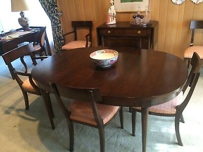 Dining Room Furniture Set-Walnut Veneer by Old Colony Furniture Co. of Michigan