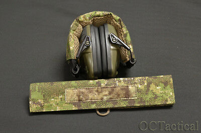 Pencott Greenzone Hearing Protection Cover Wrap Howard Leight Impact OC Tactical