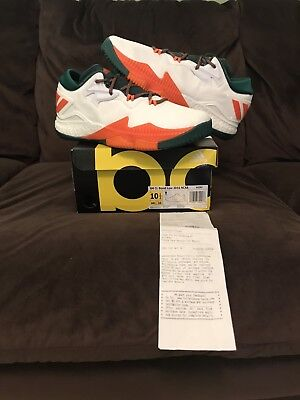 Miami Hurricanes Adidas Men's Crazy Light Boost Low Basketball Shoe Limited