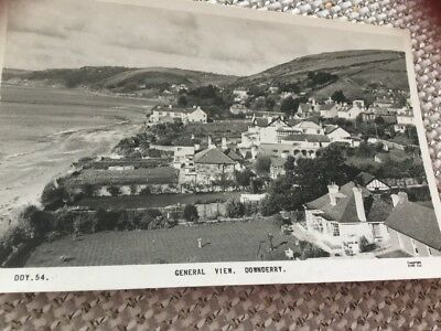 Real Photo Downderry General View Cornwall 1962 To Weston Crewe