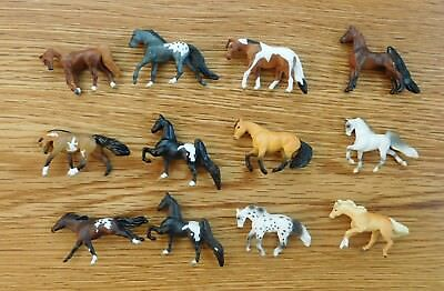 Lot of 12 Assorted Breyer Mini Whinnies Horses
