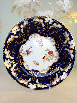 Antique Collingwood china bowl with hand painted decoration